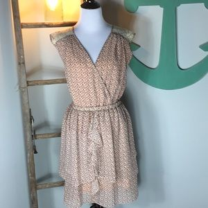 Miss me ruffle and lace dress- NWT